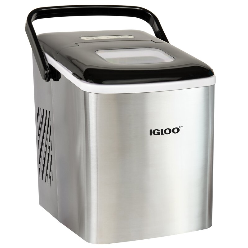 Igloo Automatic Self Cleaning 26 Lb Daily Production Portable Ice Maker Reviews Wayfair Ca