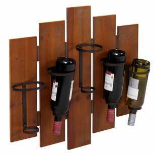 Dedham 5 Bottle Wall Mounted Wine Rack By Alpen Home