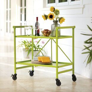 Beachcrest Home Greenbush Bar Cart