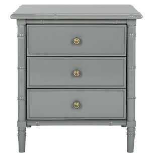 Bayou Breeze Aylin 3 Drawer Nightstand