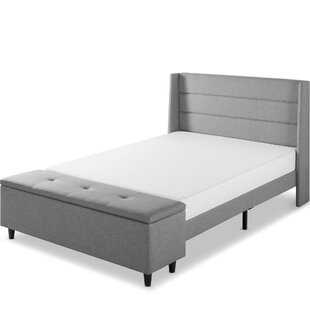 Minatare Upholstered Storage Platform Bed
