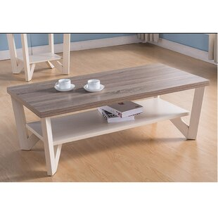 Aletra Coffee Table with Storage