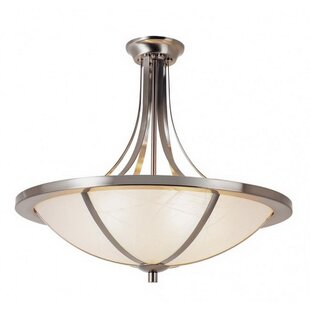 Charlton Home Soucy 5-Light Bowl Pendant