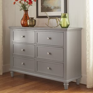 Isabella 6 Drawer Dresser by Darby Home Co