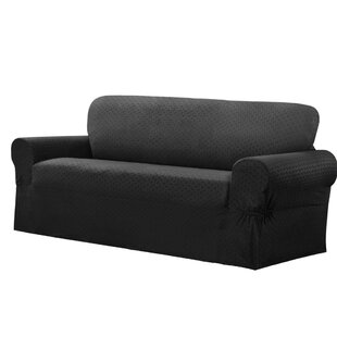 Darby Home Co Box Cushion Sofa Slipcover