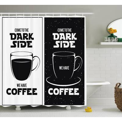 Juliette Come To The Dark Side We Have Coffee Funny Quote Space Wars Between Black And