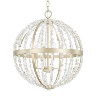 Astoria Grand Balamine 4-Light Globe Chandelier