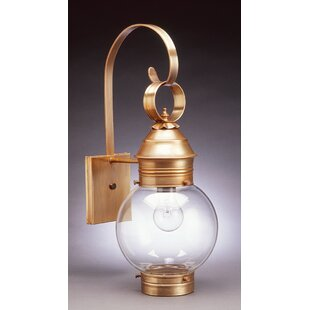 Where buy  Onion 1-Light Outdoor Wall Lantern By Northeast Lantern