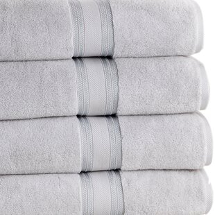 Briele 100% Cotton Bath Towel (Set of 4)