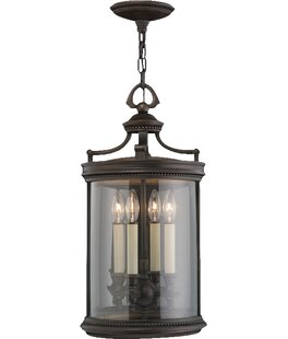 Louvre 4-Light Outdoor Hanging Lantern By Fine Art Lamps Outdoor Lighting