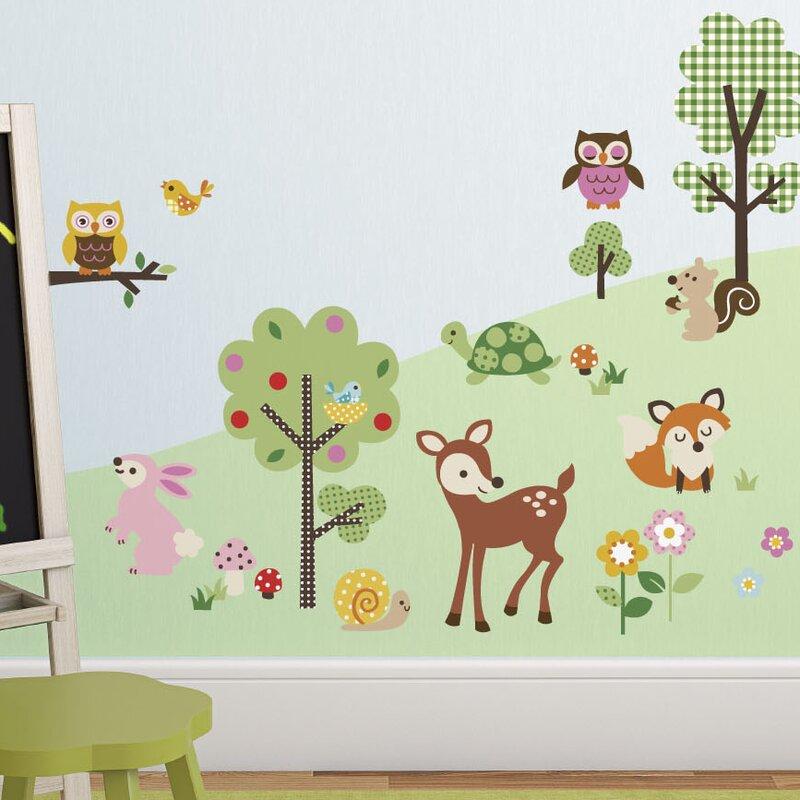 Friendly Forest Nursery Wall Decal