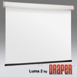 Luma 2 with AutoReturn Matt White Projection Screen
