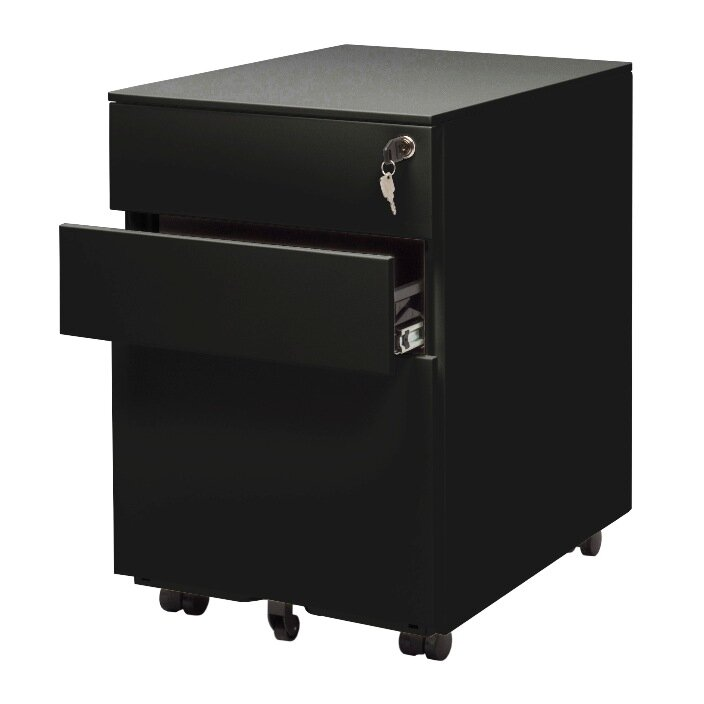 High Quality Office 3 Drawer Mobile File Cabinet
