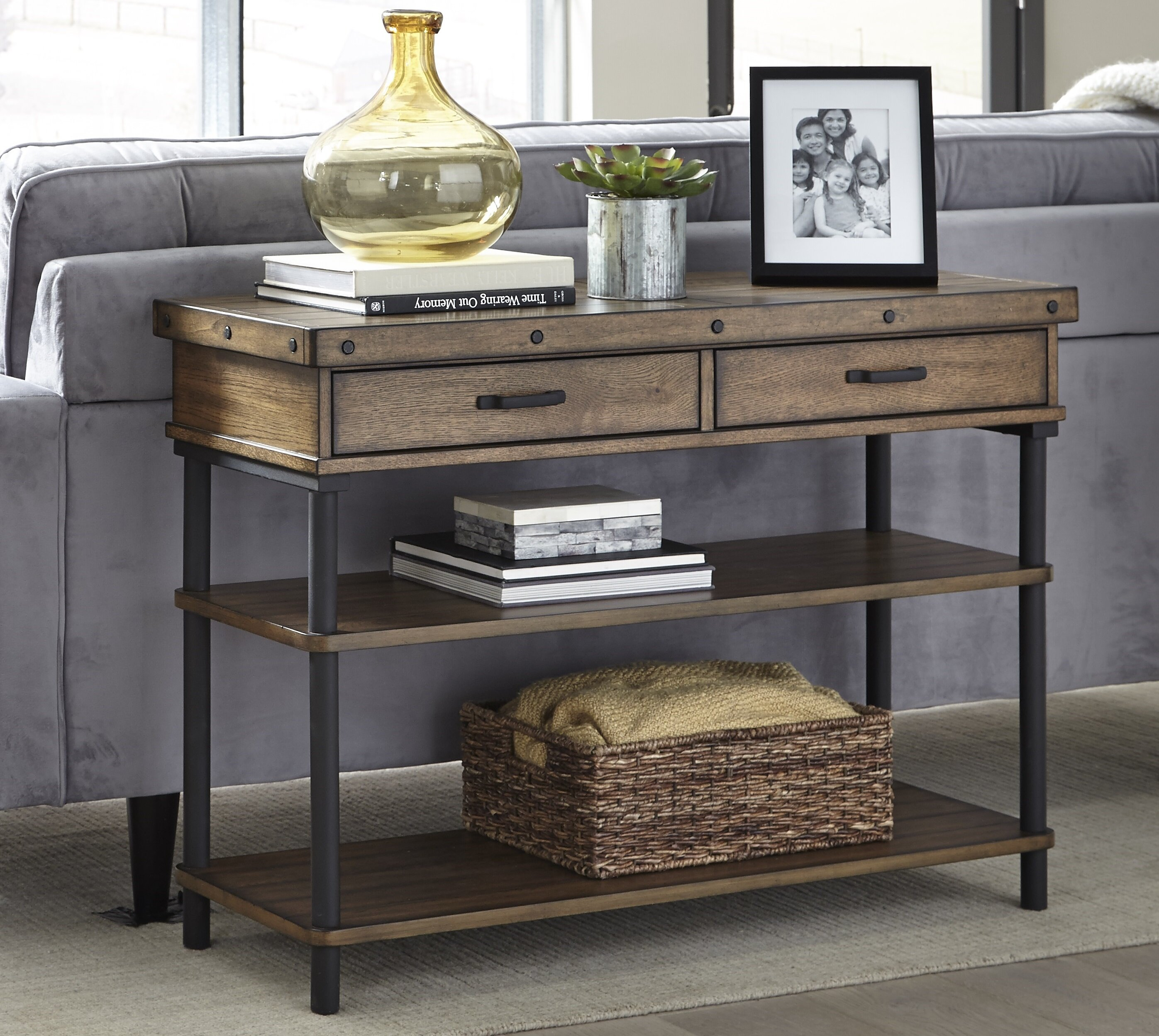 17 Stories Yesenia Console Table Reviews Wayfair