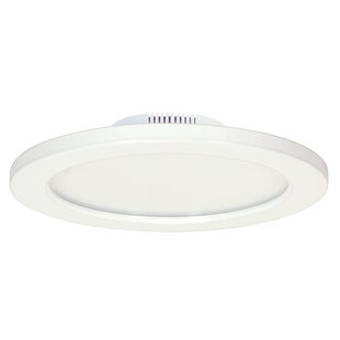Price comparison Filleti 1-Light LED Flush Mount By Ebern Designs