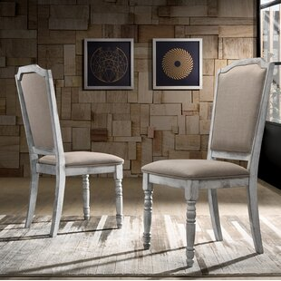 Ophelia & Co. Mariposa Upholstered Dining Chair (Set of 2)