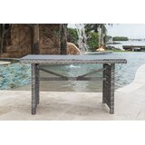 Graphite Glass Coffee Table