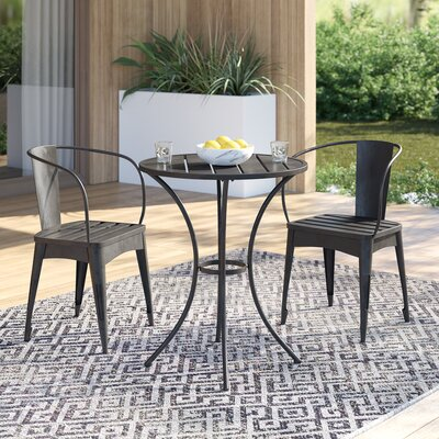 Biles 3 Piece Bistro Set by Mercury Row Great Reviews