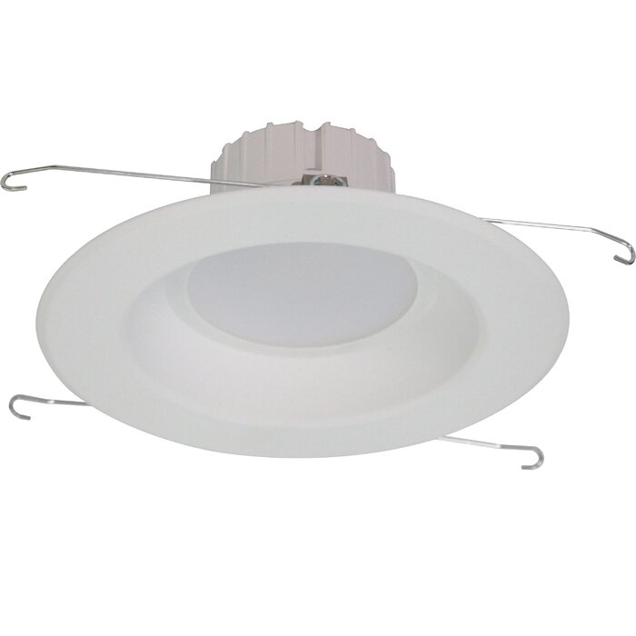 3000k New Construction And Remodel Non Ic Rated 7 Led Recessed Lighting Kit