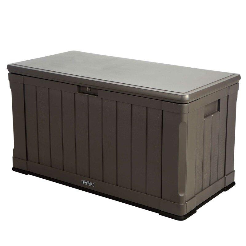 Exceptionnel Plastic Deck Storage Box