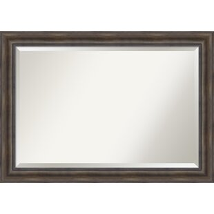 Loon Peak Rectangle Wood Wall Mirror