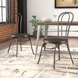 Lalani Workbench Metal Side Chair (Set of 2)