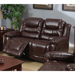 Toronto Leather Reclining Loveseat by Beverly Fine Furniture