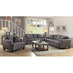 Find a Munos 3 Piece Living Room Set by Red Barrel Studio Reviews (2019) & Buyer's Guide