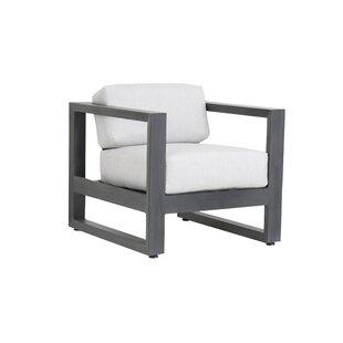 Sunset West Redondo Patio Chair with Sunbrella Cushions