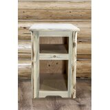 End Table with Storage by Montana Woodworks®