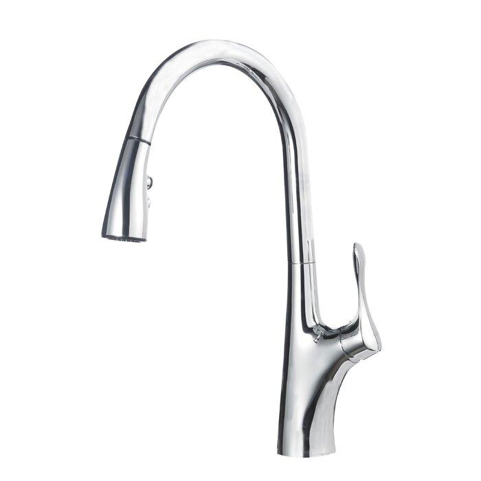 Blanco Napa Pull Down Single Handle Kitchen Faucet & Reviews ...