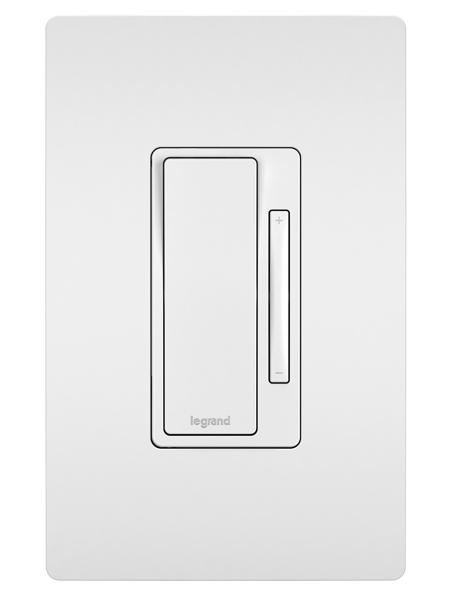 Rocker Light Switch >> Radiant 15 Amp Single Pole And 3 Way Rocker Light Switch