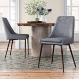 Bibler Upholstered Side Chair (Set of 2) by Joss & Main