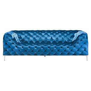Price Check Escobar Chesterfield Sofa by Wade Logan Reviews (2019) & Buyer's Guide