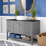 Nadel 48 Single Bathroom Vanity Set by Beachcrest Home™
