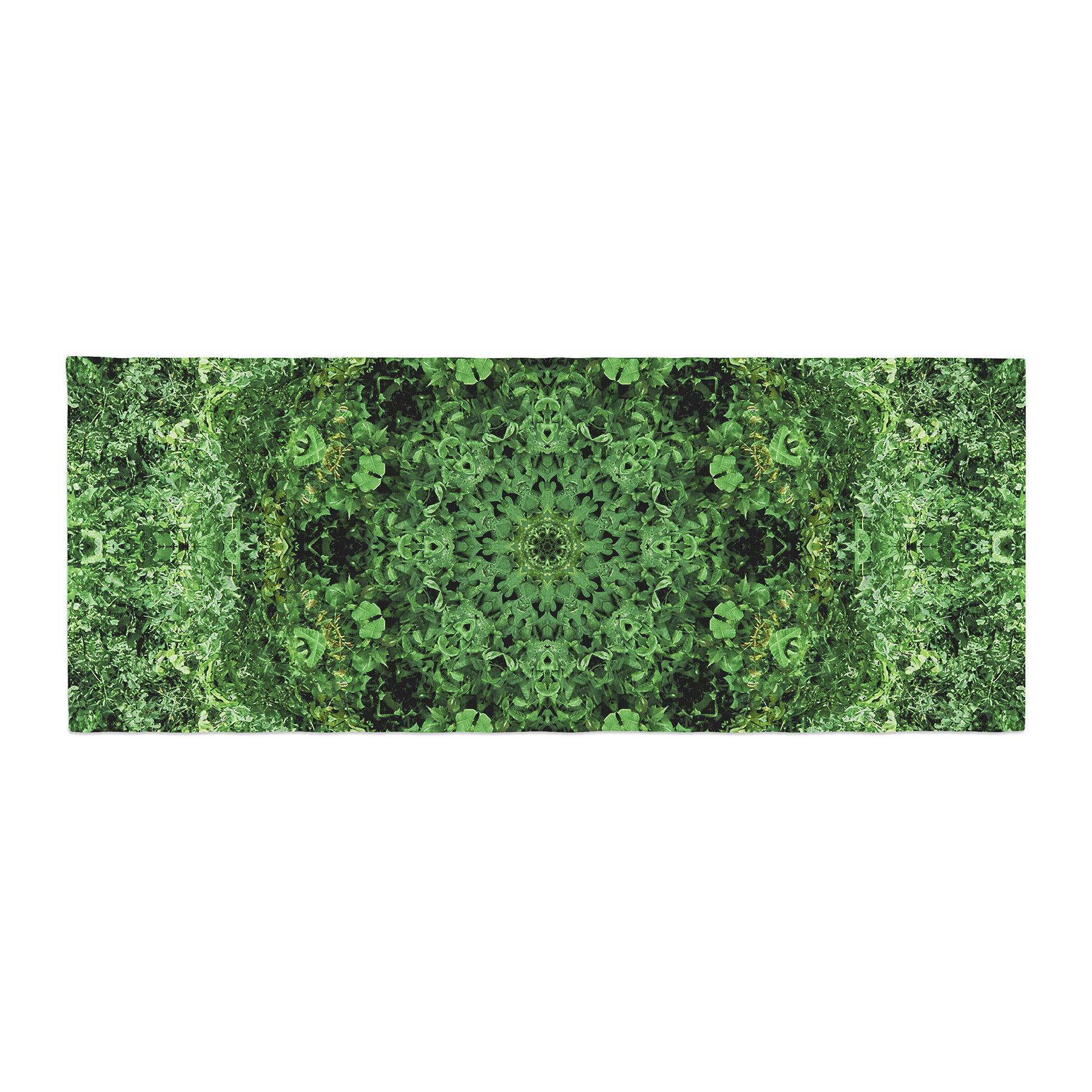 f478296f3 East Urban Home Nick Nareshni Forest Mandala Geometric Bed Runner ...