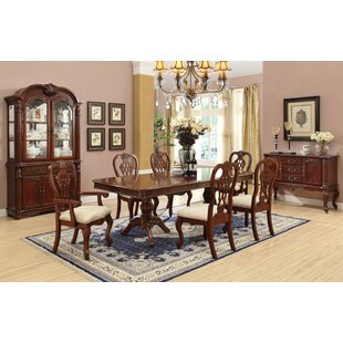 Cavalier 7 Piece Extendable Dining Set Astoria Grand