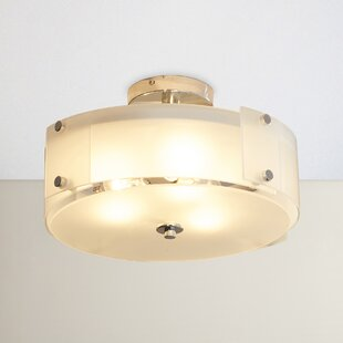 Carillon 3-Light Semi Flush Mount by Red Barrel Studio