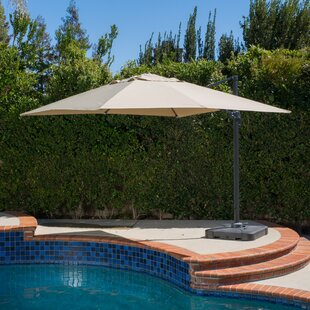 Frederick 10' Square Cantilever Umbrella by Freeport Park