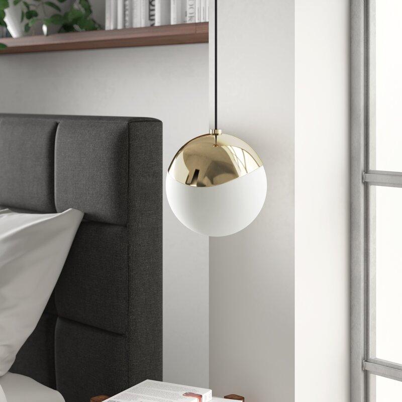 Molena 1 Light Single Globe Pendant Reviews Allmodern