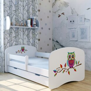 Owl Tomo Bed With Mattress And Drawer By Zoomie Kids