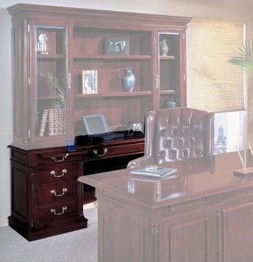 Flannagan Traditional Wood Executive Desk
