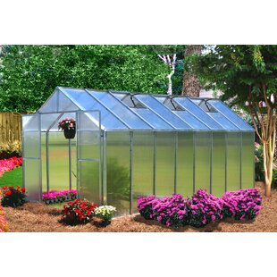 Riverstone Industries Monticello 8 Ft. W x 16 Ft. D Hobby Greenhouse