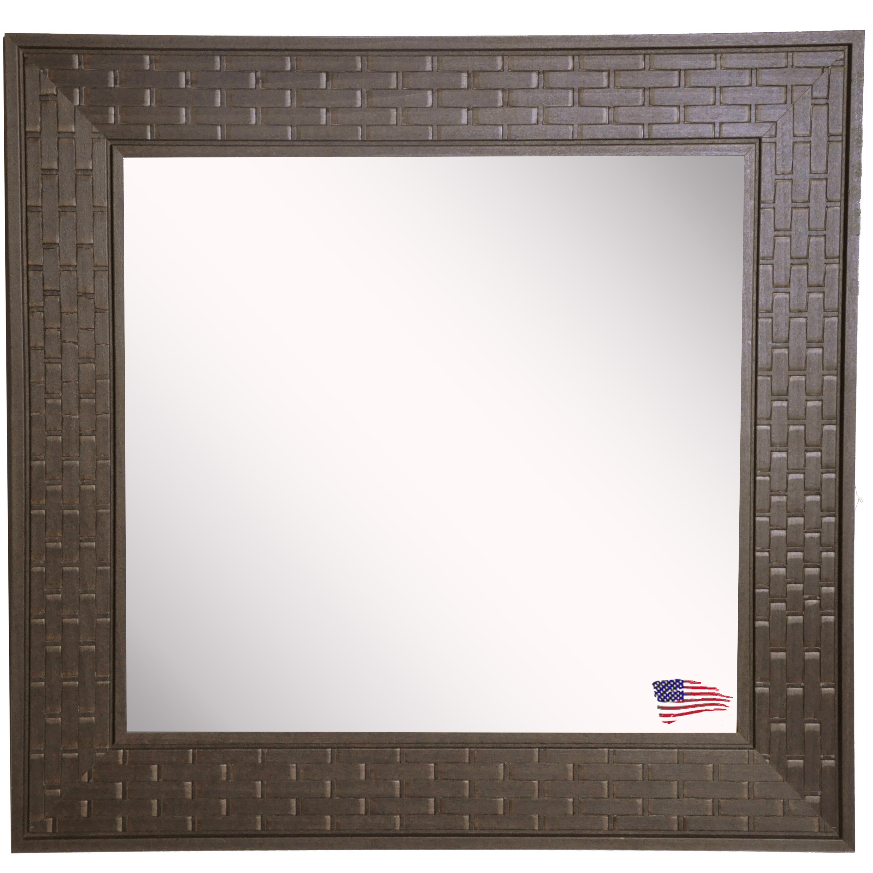 Hille Bricks Modern Contemporary Wall Mirror