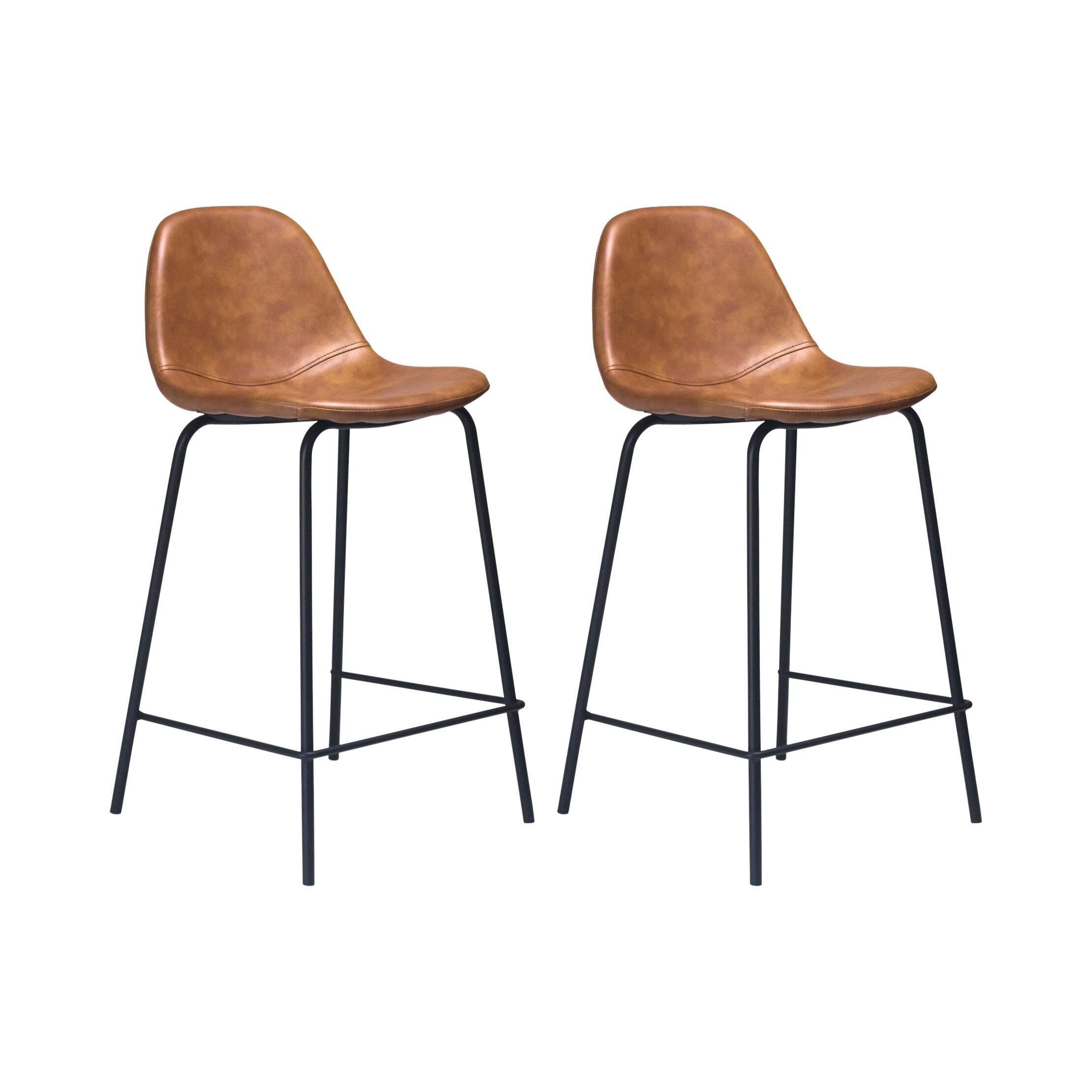 Image of: Aeon Furniture Neil Bar Counter Stool Reviews Wayfair