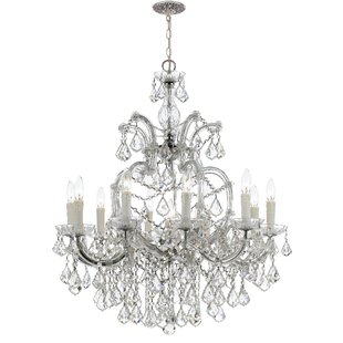 House of Hampton Griffiths 11-Light Candle Style Chandelier
