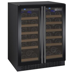 36 Bottle FlexCount Series Dual Zone Wine Cooler by Allavino