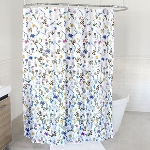 Compare prices Ena Fabric Shower Curtain By House of Hampton