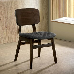 Larry Solid Wood Dining Chair Set of 2