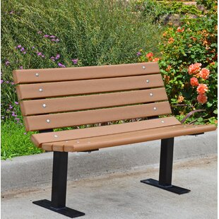 Contour Recycled Plastic Park Bench